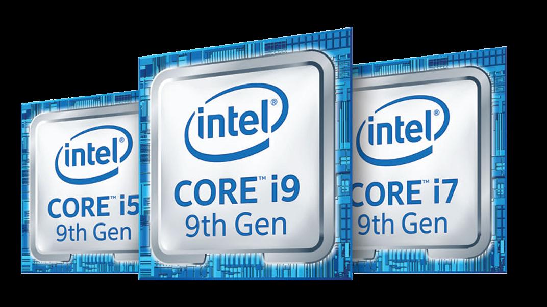 Logo della famiglia di processori Intel® Core™ di nona generazione