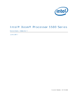 Intel® Xeon® Processor 5500 Series Datasheet Vol. 1