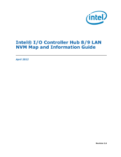 Intel® I/O Controller Hub 8/9 LAN NVM: Map and Information Guide