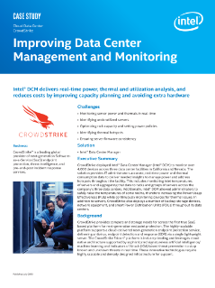 Improving Data Center Management and Monitoring