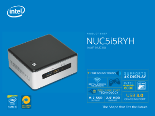 Intel® NUC Kit NUC5i5RYH Product Brief