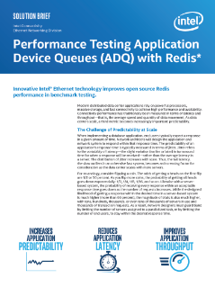 Innovative Intel® Ethernet Technology Improves Open Source Redis* Performance in Benchmark Testing