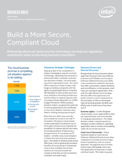 Build a More Secure, Compliant Cloud