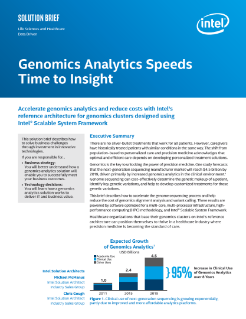 Genomics Analytics Speeds Time to Insight