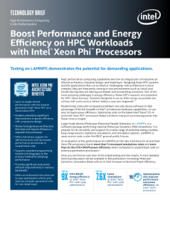 Boost Performance and Efficiency on HPC Workloads