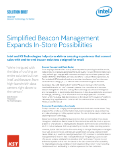 End-to-End Beacon Solutions Designed for Retail