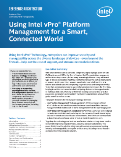 Intel® AMT for Remote Device Management