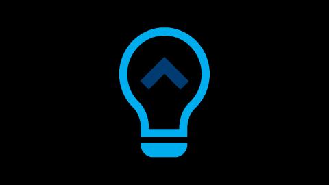 Icona lampadina energia