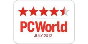 4 1/2 Stars PC World July 2012
