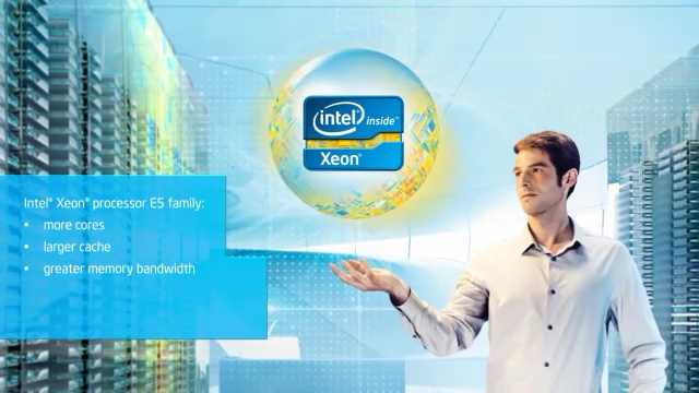 Increase Server Performance: Intel® Xeon® Processor E5 Family